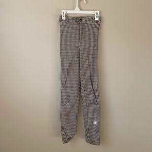 2/$30 Skinny Plaid Pants